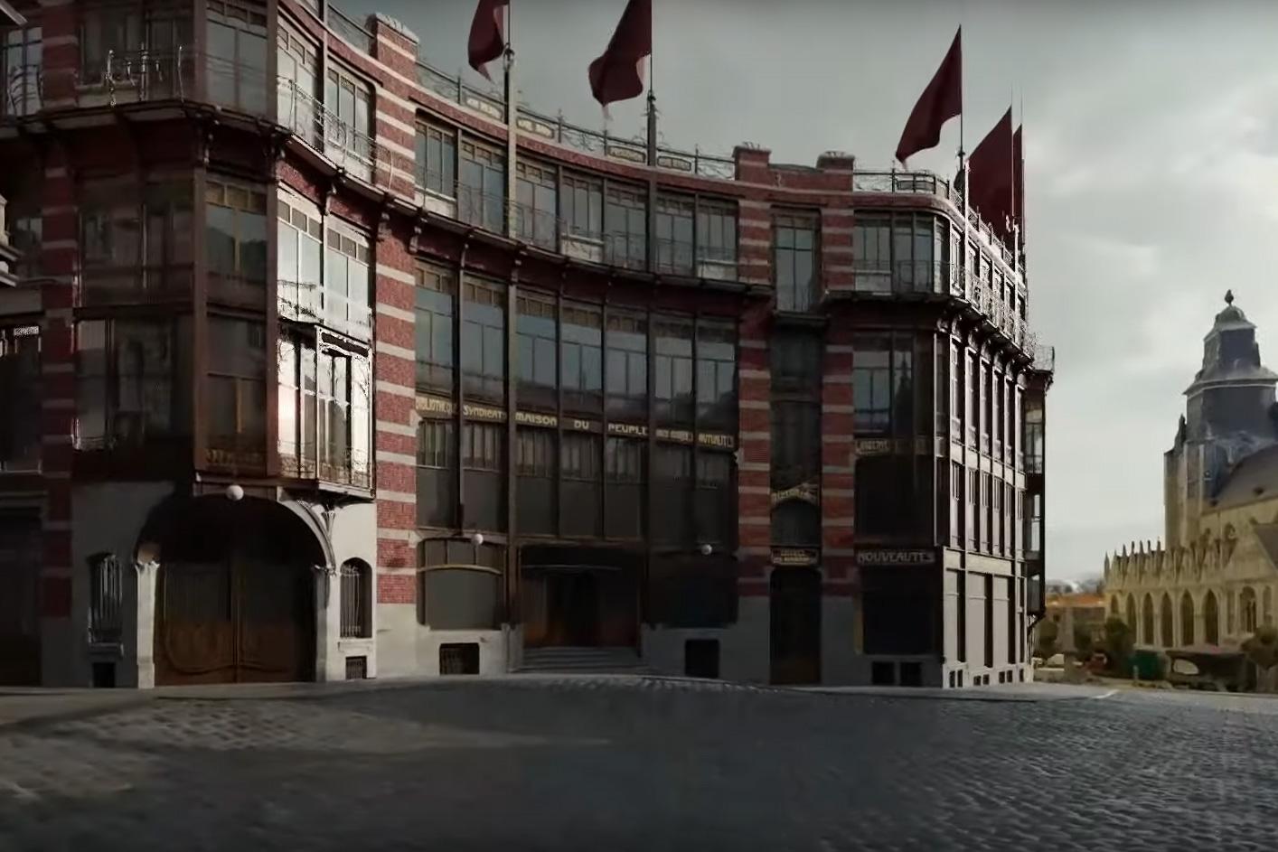 Maison du Peuple — 3D
